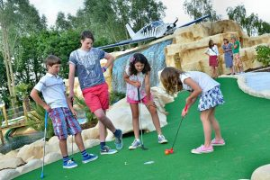 Jungle Paradise Adventure Golf Chichester West Sussex