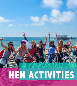 Brighton Hen Party Activities & Things to Do
